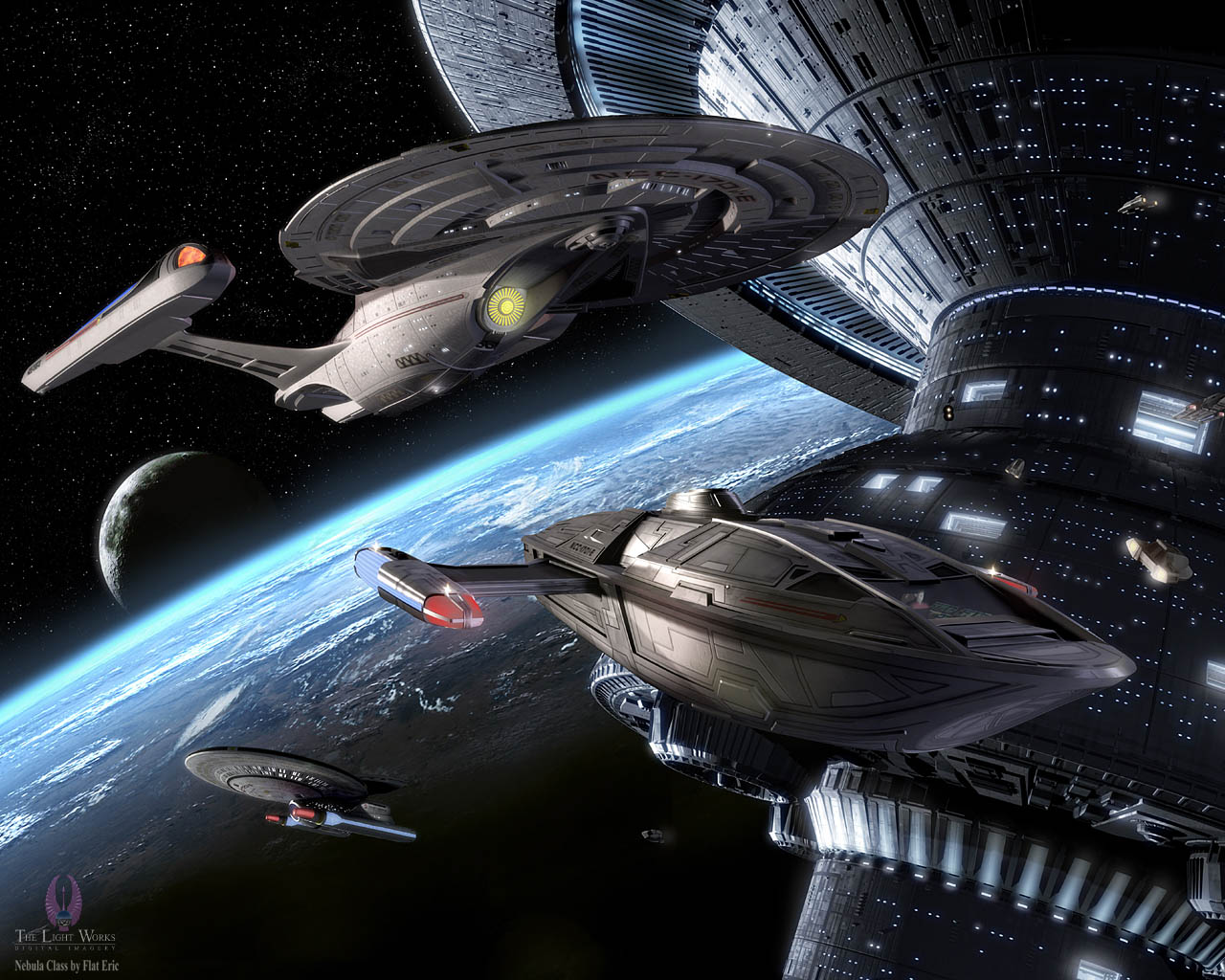 Federation Starship Wallpaper Federation |on 30 Avril